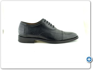 112-76143 Black Inj Leather Sole Side