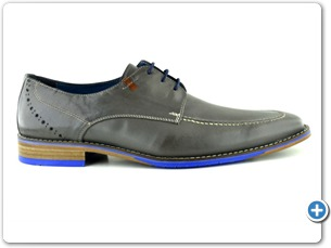 14739 Grey Antic Inj Leather Sole Side