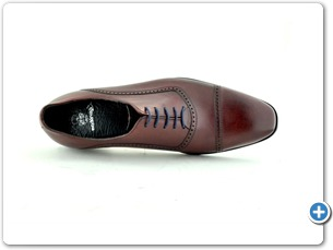 14743 Bordeaux HP Inj Leather Sole Top