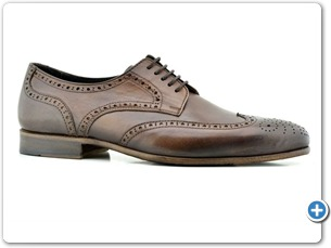 114201 Brown HP Anthracite Lining Leather Sole Side