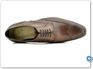 114201 Brown HP Anthracite Lining Leather Sole Top