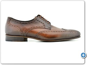 114201 Cognac HP Anthracite Lining Leather Sole Side