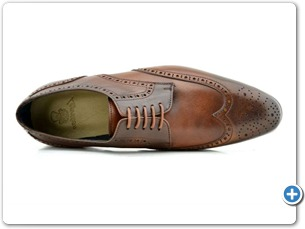 114201 Cognac HP Anthracite Lining Leather Sole Top