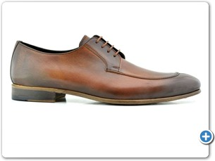 114208 Cognac HP Anthracite Lining Leather Sole Side