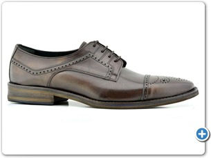 14720 Palisander HP Anthracite Lining Brown EVA Sole Side