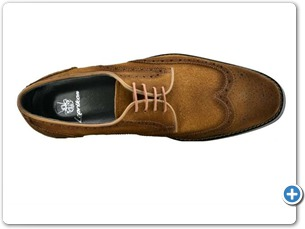 14738 Cognac Suede Anthracite Lining 50501 Brown Sole Top