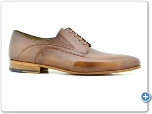 14758 Cognac Antic-Gomez Anthracite Lining Leather Sole Side