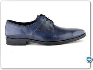 14763 Navy Antic Anthracite Lining 385 Red Sole Side