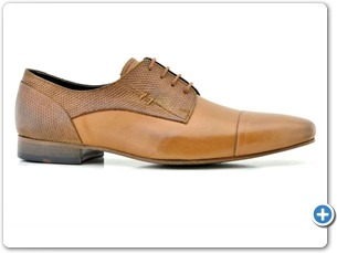 14770 Med Brown HP Nat Calf Lining Leather Sole Side