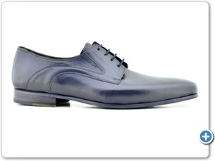 14770 Navy HP Nat Calf Lining Leather Sole Side