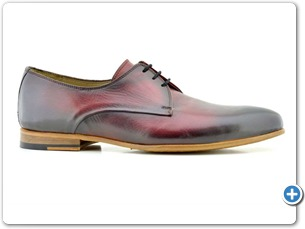 16507 Bordo HP Nat Calf Lining Leather Sole Side