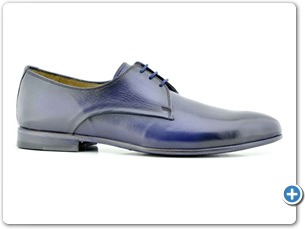 16507 Navy HP Nat Calf Lining Leather Sole Side
