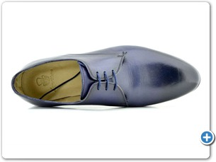 16507 Navy HP Nat Calf Lining Leather Sole Top