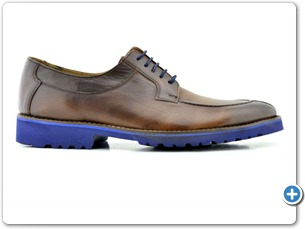 16804 Med. Brown HP Nat Calf Lining 10021 Navy Sole Side