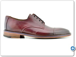 16806 Bordo HP Nat Calf Lining Leather Sole Side