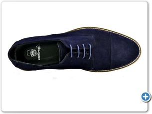 16806 Navy Suede Anthracite Lining 10021 Navy Sole Top