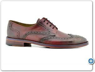 16807 Bordo HP Nat Calf Lining Leather Sole Side