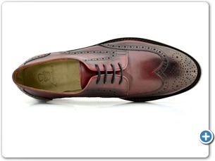 16807 Bordo HP Nat Calf Lining Leather Sole Top