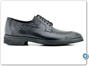 16816 Black Antic Anthracite Lining Black Crepe Sole Side
