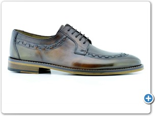 16816 Brown HP Nat Calf Lining Leather Sole Side