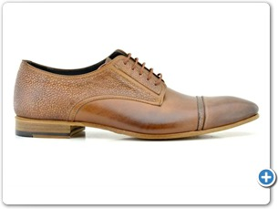 2201 Cognac Antic-Cognac Meteor Anthracite Lining Leather Sole Side