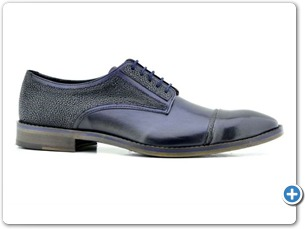 2201 Navy HP- Navy Meteor Anthracite Lining Leather Sole Side