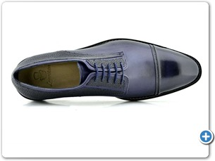 2201 Navy HP- Navy Meteor Anthracite Lining Leather Sole Top