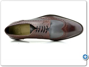 2203 Bordo-Grey Antic Anthracite Lining 385 Red Sole Top