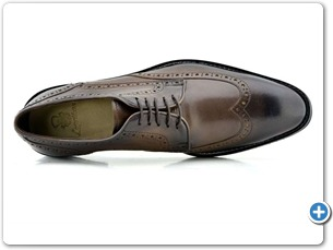 2203 Brown HP Anthracite Lining Leather Sole Top