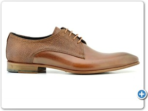 2220 Cognac HP - Cognac Meteor Anthracite Lining Leather Sole Side