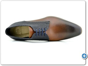 2220 Cognac HP-Navy Meteor Anthracite Lining Leather Sole Top