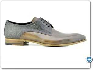 2220 Grey HP - Grey Meteor Anthracite Lining Leather Sole Side