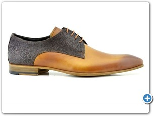 2220 Yellow HP - Brown Meteor Anthracite Lining Leather Sole Side
