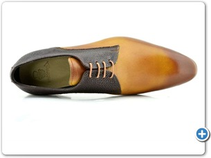 2220 Yellow HP - Brown Meteor Anthracite Lining Leather Sole Top