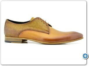 2220 Yellow HP - Cognac Meteor Anthracite Lining Leather Sole Side