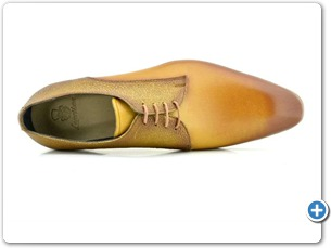 2220 Yellow HP - Cognac Meteor Anthracite Lining Leather Sole Top