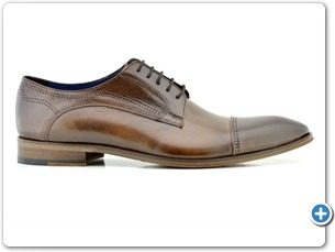 2225 Brown HP Blue Lining Leather Sole Side
