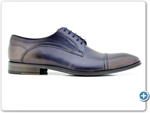2225 Navy HP Blue Lining Leather Sole Side