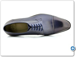 2225 Navy HP Blue Lining Leather Sole Top