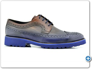 76114 Combin HP Anthracite Lining 10021 Navy Sole Side