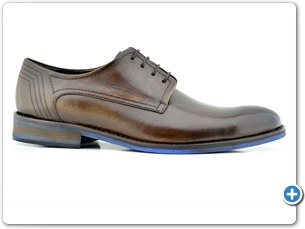 76116 F Palisander HP Anthracite Lining Blue EVA Sole Side