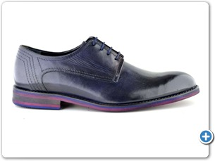 76116 H Navy HP Anthracite Lining Red EVA Sole Side