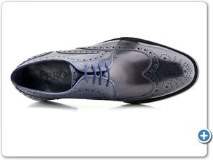 76129 G Navy HP Anthracite Lining Blue EVA Sole Top