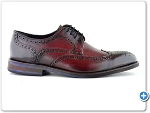 76129 H Bordo HP Anthracite Lining Blue EVA Sole Side