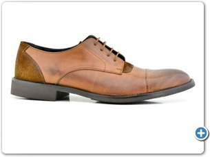827 Cognac Antic Anthracite Lining Emre Brown Sole Side