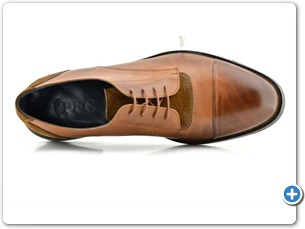 827 Cognac Antic Anthracite Lining Emre Brown Sole Top